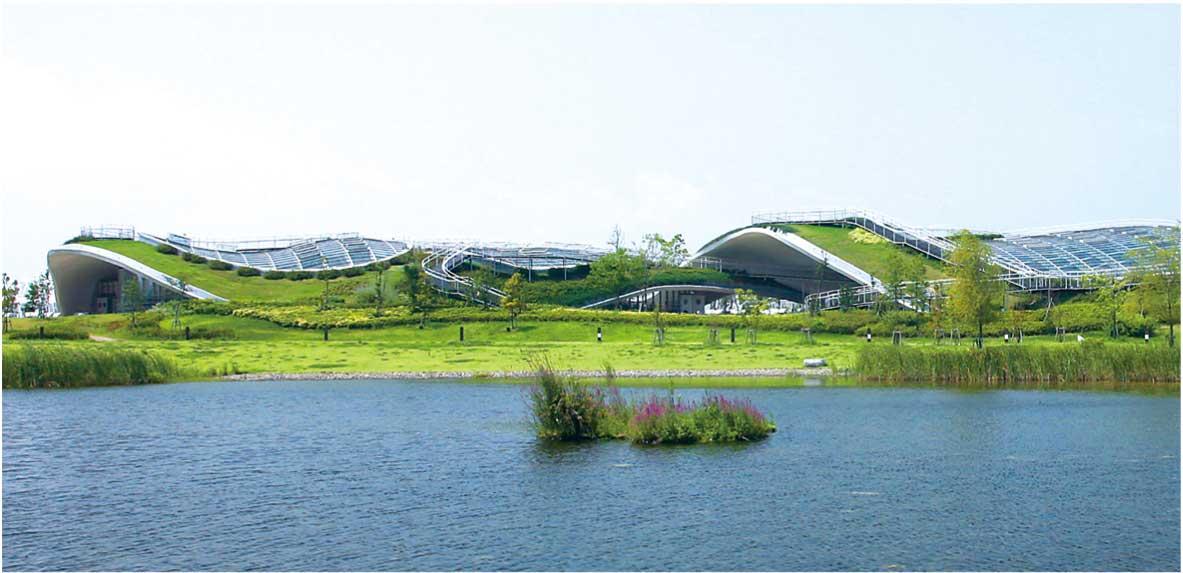 Grin Grin, concepito da Ito Toyo, si nasconde nel Parco Island City