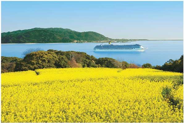 Panorama dall'isola di Nokonoshima