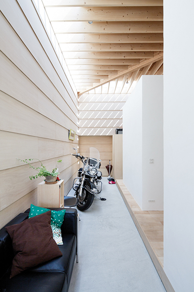 Una casa funzionale per tutti i suoi abitanti - Jérémie Souteyrat per Zoom Giappone-